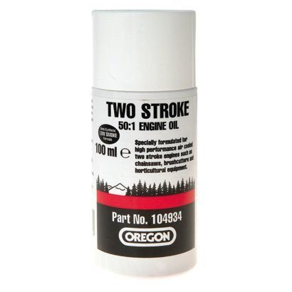 Oregon 104934 2-Stroke One Shot (50:1) Semi Synthetische kettingzaag Motorolie - 100ML