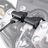 デイトナ バイク専用電源 USBx2 USB2口合計5V/4.8A (1口最大5V/2.4A) ブレーキスイッチ割り込ませタイプ メインキー連動 99503