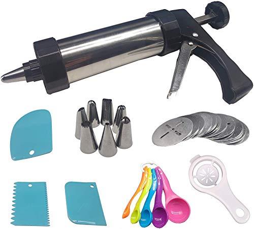 LAZNG Galletas Galletas Prensa Cutter Maker Conjuntos para la decoración de pasteles DIY Cocina Herramientas para hornear