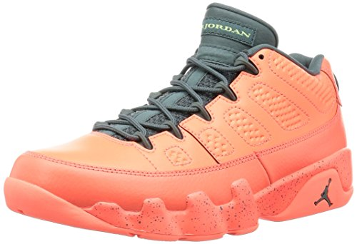 Nike Air Jordan 9 Retro Low, Zapatillas de Baloncesto Hombre, Naranja (Bright Mango/hasta-Ghost Green), 42 1/2