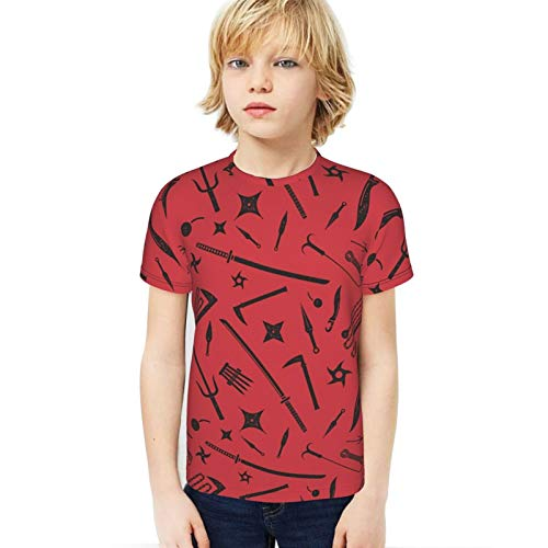 Cwc Chad Wild Clay Boy T-Shirt Boys and Girls Print Tee T-Shirts Youth Fashion Tops Medium