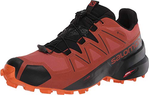 SALOMON Speedcross 4 GTX, Scarpe Running Uomo, Arancione (Mattone Bruciato/Nero/esuberanza), 46 EU