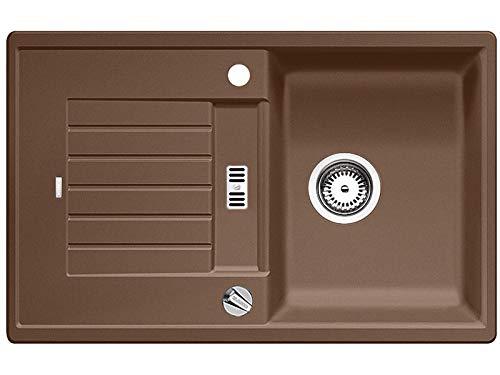 Blanco Zia 45 S Muskat - 521 959 Granitspüle Küchenspüle Spülbecken Braun