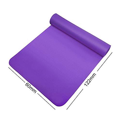 NSSQ Yoga de la Aptitud Ejercicio Training Mat Deportes Rodilla Codo Culturismo Pad multifunción Equipo de Ejercicio de la Yoga (Color : Purple)