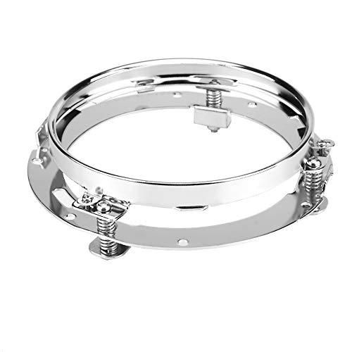Halterung Ring Lampe Auto 7 Zoll runde led Scheinwerfer Halterung Ring Edelstahl Kopf licht lampenfassung für Wrangler