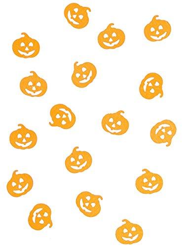 Confettis de table Citrouille Halloween