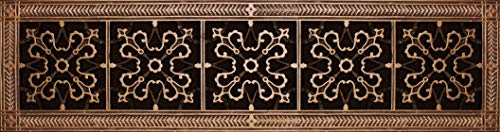 """Decorative Grille, Vent Cover, or Return Register. Made of Urethane Resin to fit Over a 6""""x30"""" Duct or Opening. Total Size of Vent is 8""""x32""""x3/8"""", for Wall and Ceiling grilles (not for Floor use)."""