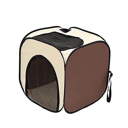 LTCTL Caja de secado portátil para mascotas Tienda de mascotas plegable Perros secador de pelo Caja de soplado Grooming House Bag Pet Dry Room Gatos Blow Box Casa