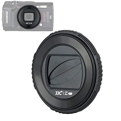 JJC Protector de lente de cámara para Olympus Tough TG-6, TG-5, repuesto para Olympus LB-T01