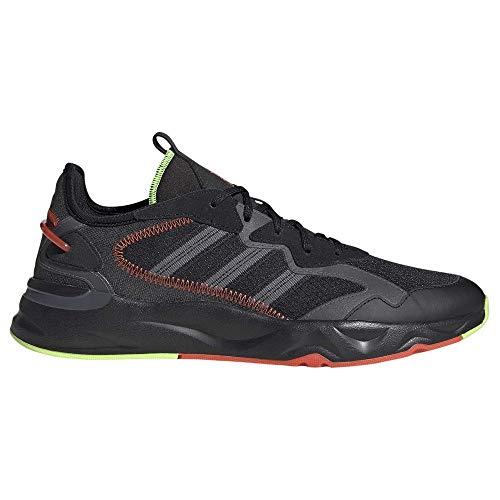 adidas FUTUREFLOW, Zapatillas de Running Hombre, NEGBÁS/Gricin/VERSEN, 44 2/3 EU