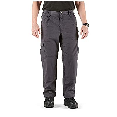 5.11 Tactical Men's Taclite Pro Lightweight Performance Pants, Cargo Pockets, Action Waistband, Charcoal, 34W x 30L, Style 74273