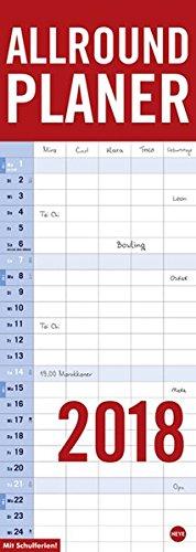 Allround-Familienplaner Vertical - Kalender 2018