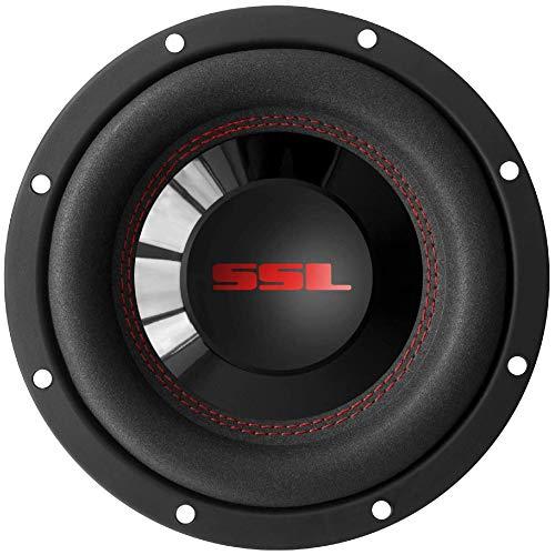 """1 subwoofer SOUNDSTORM SSL CG8D da 20,00 cm 200 mm 8"""" 400 watt rms e 800 watt max dvc dual voice coil doppia bobina 4 ohm per auto o in cassa, 1 pezzo"""