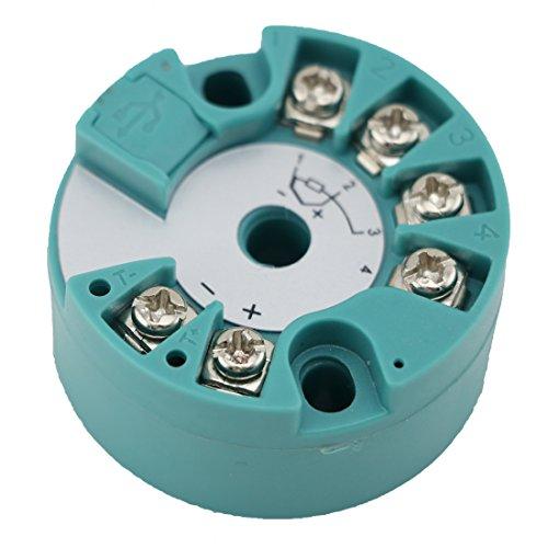 Meacon PT100 Temperature Transmitter Module temperature 0-500C, 4-20MA output,24V MK-ST500-3