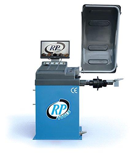 Auswuchtmaschine Reifen Vollaut., mit Messarm, LCD-Monitor, 230V, 10 - 32