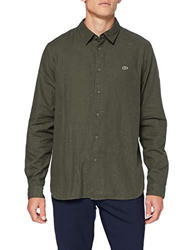 Lacoste Ch2985 Camisa, Baobab/Farine, S para Hombre