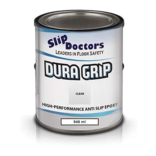 Dura Grip Anti-Slip Decking, Floor & Boat Epoxy Paint - Covers 7 to 10 sq. m – Multiple Colours -...
