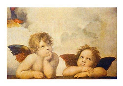 Buyartforless Angels by Sanzio Raffaello 12x9.5 Art Print Poster Wall Decor