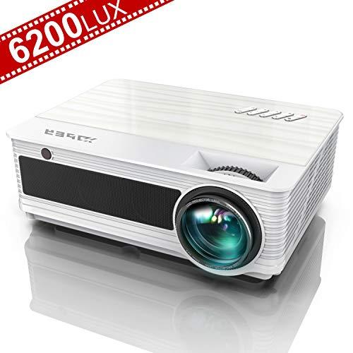 Vidéoprojecteur, YABER 6200 Lumens Vidéo Projecteur...