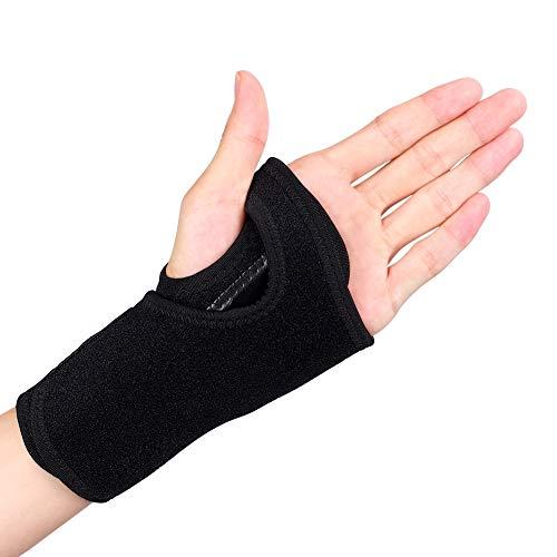 Atmungsaktives Handgelenkband, Atmungsaktive Handgelenkstütze Verstellbare Handgelenkschiene mit Metallschienenstabilisator für Karpaltunnel, Arthritis, Tendinitis, Verstauchungen, Gelenk