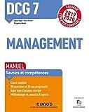 DCG 7 Management - Réforme Expertise comptable 2019-2020