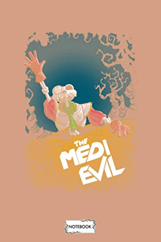 The Medievil Notebook: Journal, Matte Finish Cover, 6x9 120 Pages, Planner, Diary, Lined College Ruled Paper