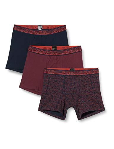 Schiesser Jungen Multipack 3PACK Shorts Unterwäsche, Sortiert 2, 152 (3er Pack)