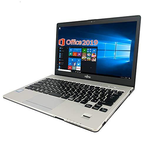 富士通 ノートPC S936/wajun(ワジュン) XR PCバッグセット/13.3型フルHD/MS Office 2019/Win 10/Core i5-6300U/Webカメラ/HDMI/WIFI/12GB/1TB HDD (整備済み品)