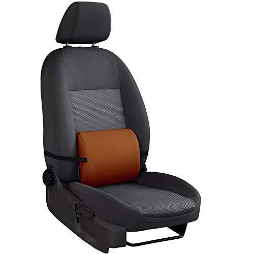Saferide Rückenkissen Braun 1 STK. Rückenstütze Für Autositz Lendenkissen Lordosenstütze