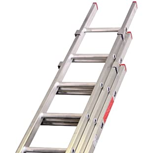 Lyte LYTBD325 3 Section Domestic Extension Ladder - Silver