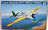トランペッター1/32 グラマンF4F-3ワイルドキャット A-004