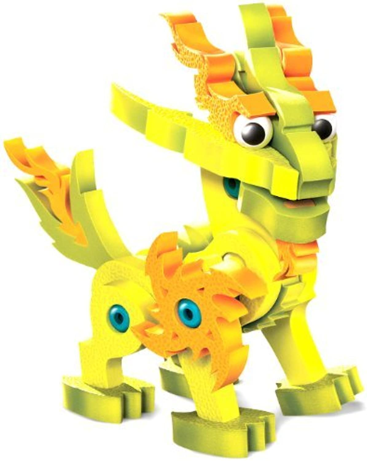 Bloco Toys Lightnix Dragon of The Light Building Kit by Bloco Toys inc.