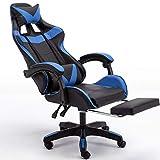 Massage Gaming Chair Ergonomic Computer Gaming Chair...