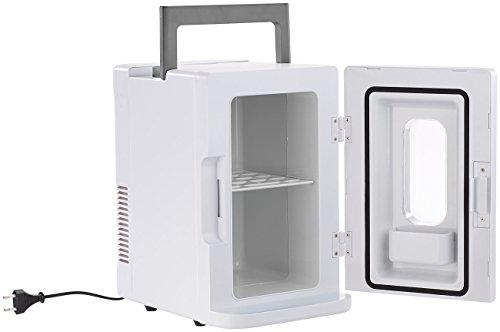 Rosenstein & Söhne Mobiler Getränkekühler: Mobiler Mini-Kühlschrank mit Wärmefunktion, 12 & 230 V, 8 Liter (Camping Kühlschrank)