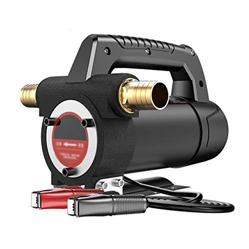 Ölpumpe Elektrisch 12V 24V Positive Und Negative Kleine Selbstansaugende Dieselpumpe Öltransferpumpe Pumpspender Ausrüstung Artifact, Geeignet for Bagger, Autos, Schiffe (Color : 24V-Package 2)