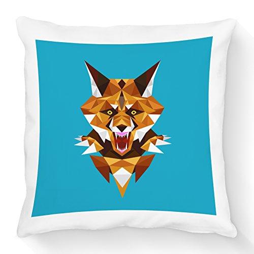 FS-Cojín, diseño de Origami Fox () zorro