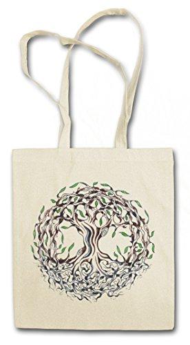 YGGDRASIL IX HIPSTER BAG - Yggdrasill árbol mitología nórdica Arsen Celtic Irminsul Tree Loki of Life Of Thor Odin Odhin Life