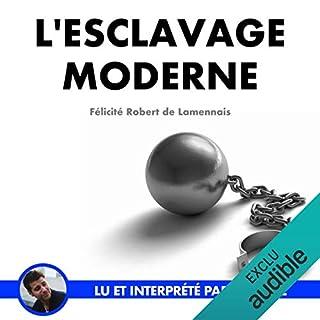 Couverture de L'esclavage moderne