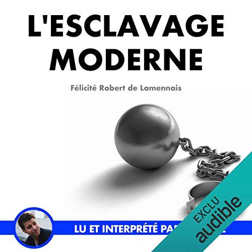 Page de couverture de L'esclavage moderne
