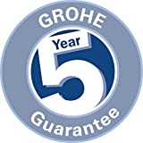 GROHE Duschsystem Unterputz Rainshower Smartcontrol 360 Duo Brausen- und Duschsystem mit Thermostatbatterie auf-/Unterputz Kombination, chrom | 26443000 - 2