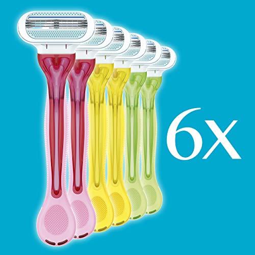 Gillette Venus Tropical Value Pack 6 Disposable Razors 3 Blades