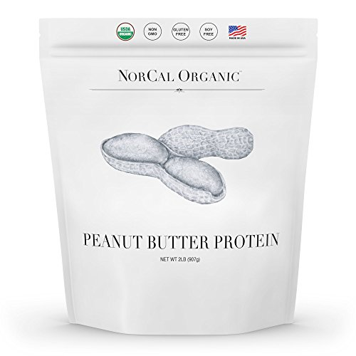 Norcal Organic Peanut Butter Powder, 2lb | 11g Protein, 100 Calories, 41 Servings | Vegan, Natural,...