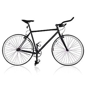 Fixie Helliot Fixie Tribeca H21 Bicicleta Urbana, Hombre, Negro y ...