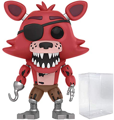 Funko Five Nights at Freddy's - Foxy The Pirate Vinyl Figure (Includes Compatible Box Protector Case)