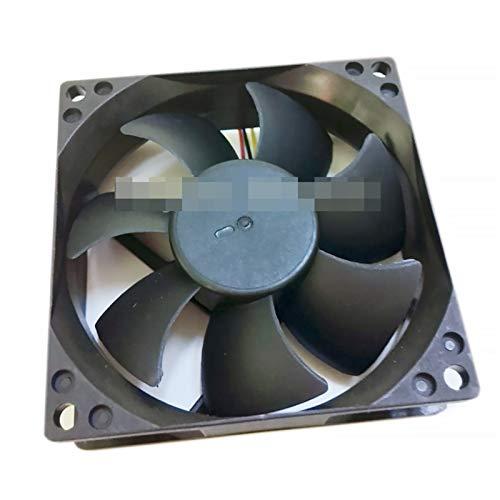 OLDJTK Ventilador de 80 mm X 80 mm X 25 mm DL08025R12U hidráulico Teniendo PWM refrigerador Ventilador de refrigeración 12V 0.50a 4WIRE 4 Pines del Conector (Blade Quantity : 7)
