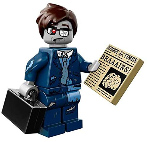 Lego Minifiguren, Serie 14, 71010 Lego Series 14 Zombie Businessman