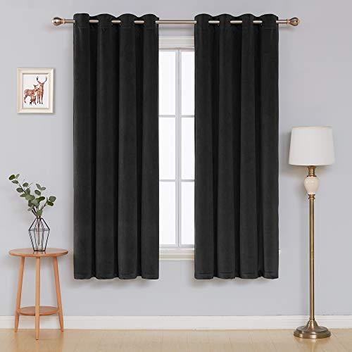 cortinas negras terciopelo