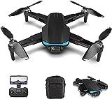 JJDSN Drones GPS con cámara 6K para Adultos, Mini cuadricóptero de Motor sin escobillas 5G WiFi FPV con Video en Vivo, Retorno automático a casa, Sígueme, Waypoints Fly
