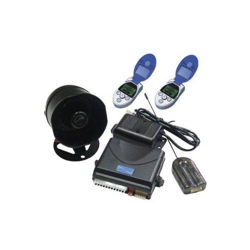 Phonics Digital PD-175 2 -Way Car Alarm with LCD Status Display and...