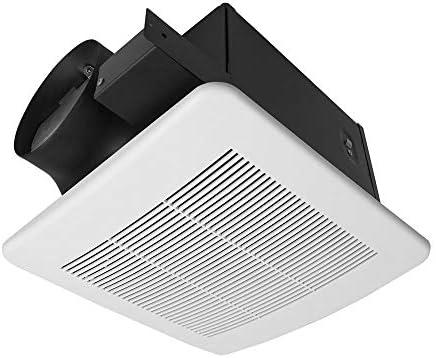 BV Ultra Quiet 140 CFM 1 0 Sones Bathroom Ventilation Exhaust Fan 6 Duct Collar product image